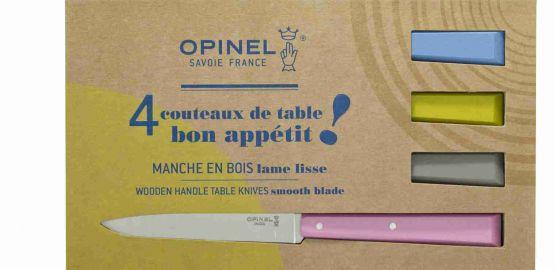 Coffret de 4 couteaux de table  N°125 Bon Appetit Campagne